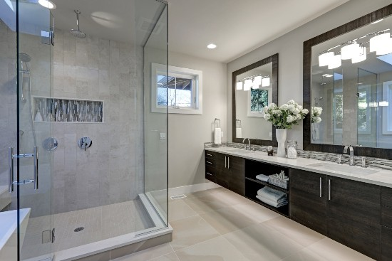 Services - A Glass Shower and New Bathroom Remodel