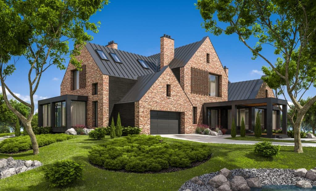 Siding Repair Minneapolis - Stone Siding House Example