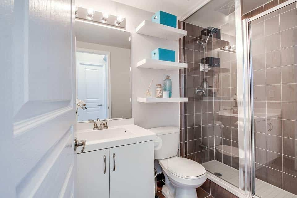 How to Build a Bathroom in the Basement - Bathroom Lighting Picture
