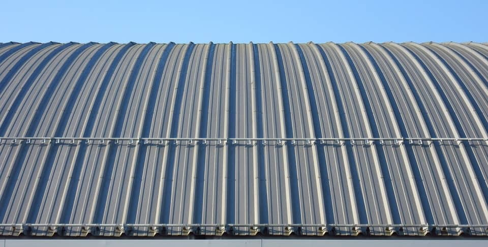 Commercial Roof Replacement Minneapolis MN - Curved Metal Roof