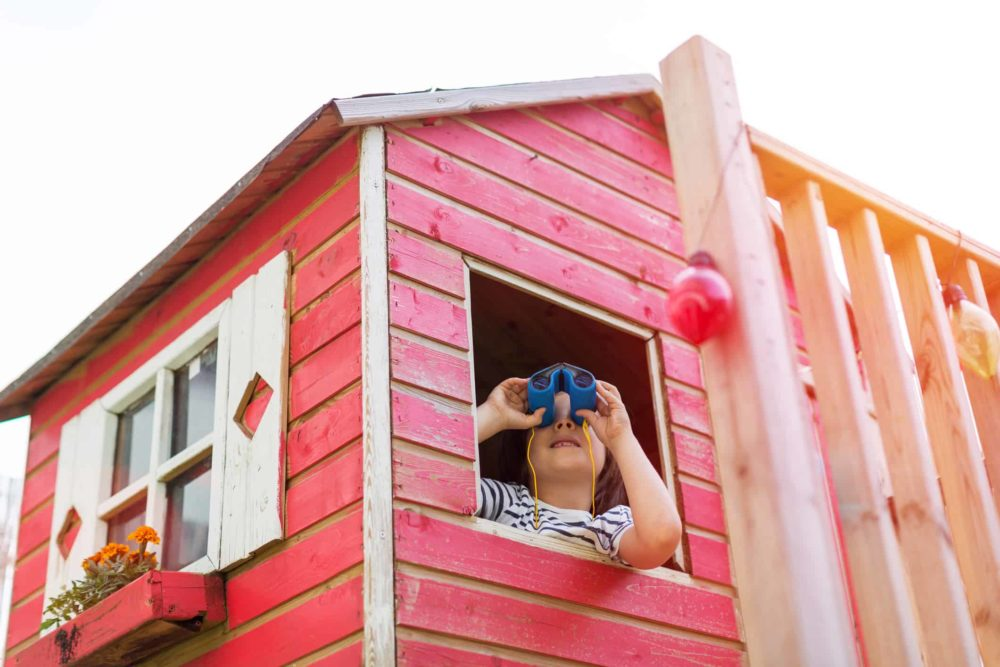 How to Build a Wooden Playhouse for Kids