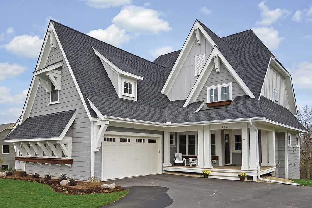 Home Improvement Return on Investment Guide 2020 - A Remodeled Home with New Light Grey Siding