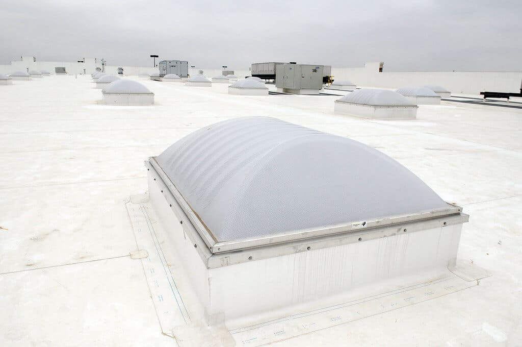 Roofing Contractors Columbia Heights MN - A Close Up of a Commercial Roof