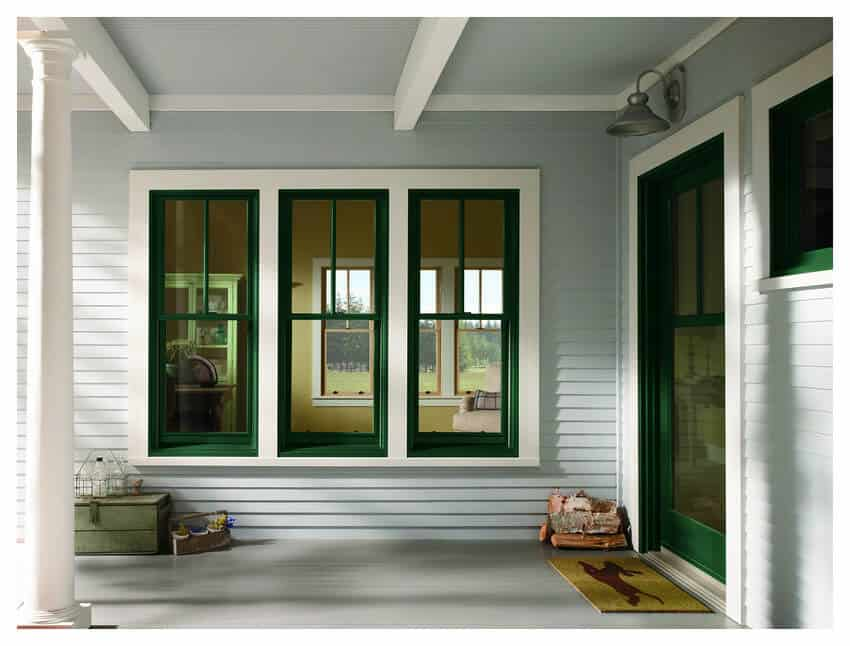 Home Improvement Return on Investment Guide 2020 - Replacement Windows on a White Home