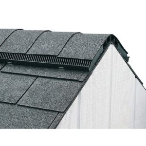How Do Ridge Venta Work? - A Picture of Installed Roof Ridge Vent Borrowed from Home Depot