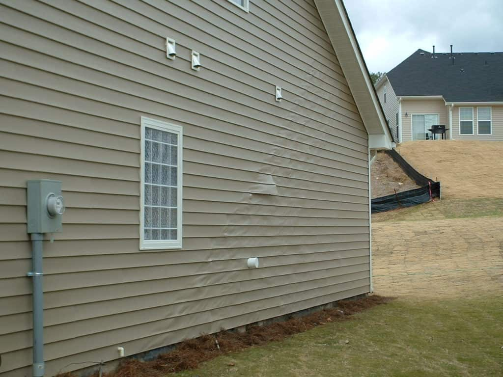 Vinyl Siding Hail Damage
