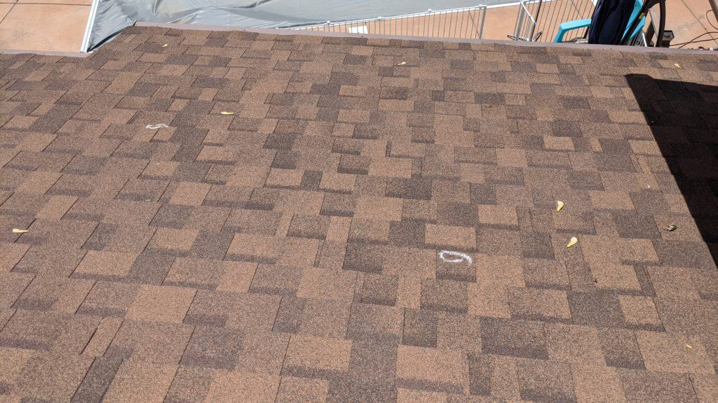 layers of roof shingles