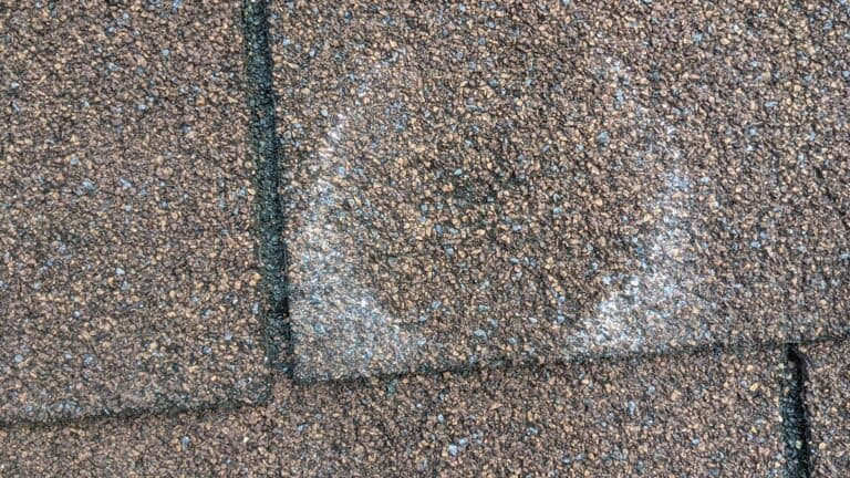 Hail Damage Roofing Inspection