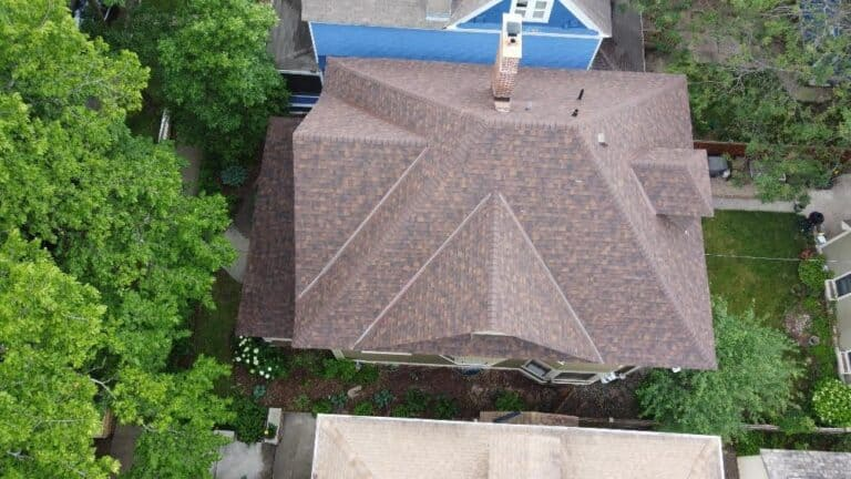 New Brown roof for a customer in Saint Paul