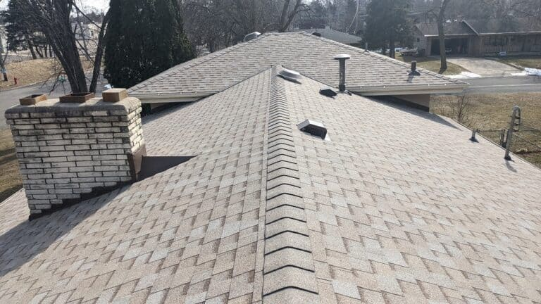 Roofing Job Near New Brighton, Minnesota