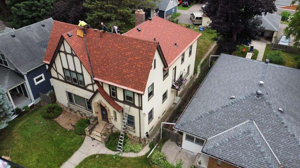 Residential Roofing Job