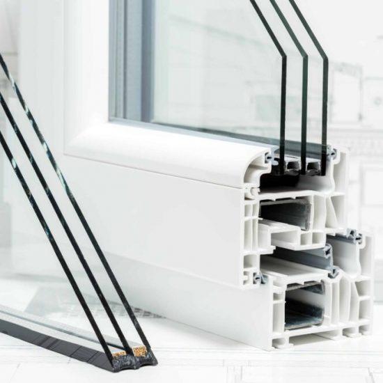 Window Repair MN - Triple Pane Window Cutaway