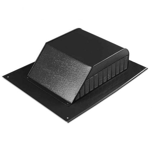 What is the Best Roof Vent for a House - Low-Profile or Louvered Roof Vent Close Up